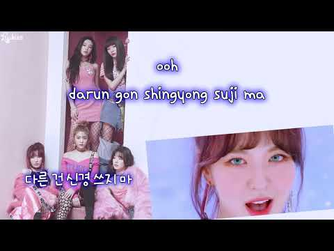 Red Velvet (레드벨벳) - Bad Boy (Karaoke/Instrumental)