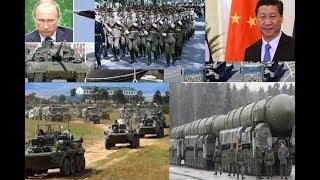 URUSI NA CHINA WAFANYA MAZOEZI MAKALI YA KIJESHI MAREKANI YATETEMA
