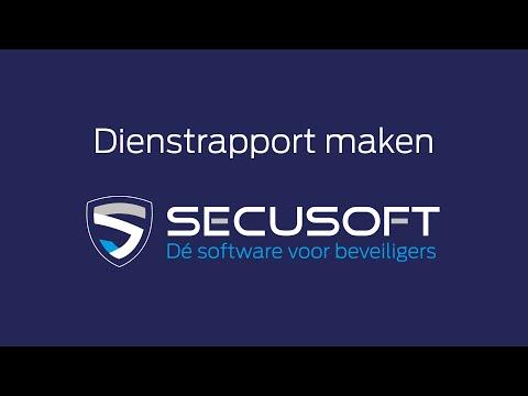 Specifiek rapport/dienstrapportage - Secusoft, dé software voor beveiligers