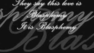 Cinema Bizarre - Blasphemy (with Lyrics) ♥