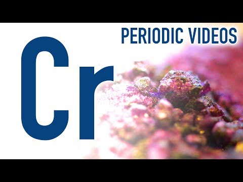 Chromium new periodic table of videos raket science experiments chromium new periodic table of videos urtaz Choice Image