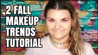 Makeup Look Using 2 Trends for Fall | 2017