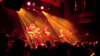 TRAMPLED BY TURTLES - IT'S A WAR @ WEBSTER HALL 4/18/12