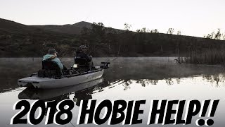 2018 Hobie Kayak Lineup.  Which is Best for Me and YOU? Giveaway winner!