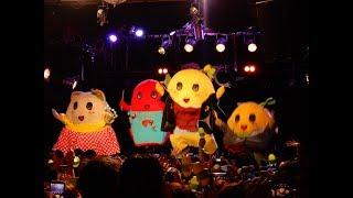 にかいめの巻ふなっしーオールスターズのLASTSUMMERGIGSなっし~♪in渋谷某ライブハウス♪