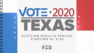 LIVE: Texas and U.S. Presidential Election results