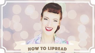 How To Read Lips! [CC]