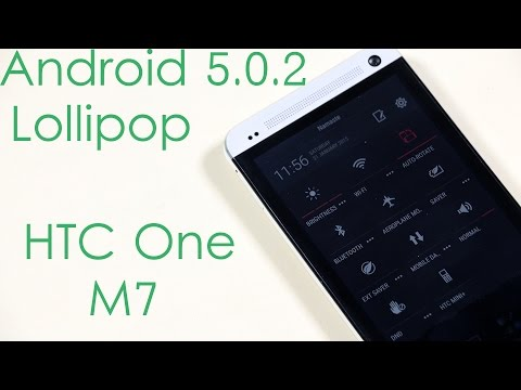 REVIEW: Android Lolliop HTC One M7 Update from Google