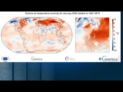 Ο πιο ζεστός Ιανουάριος στην Ευρώπη