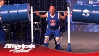 Omega Force Display Their World Record Strength - America's Got Talent