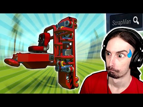 I Searched Myself in the Workshop and Got Trolled! - Scrap Mechanic Gameplay