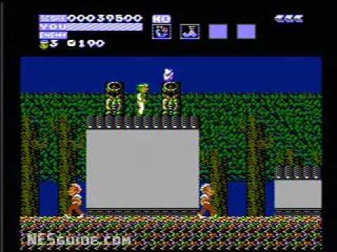 Flying Dragon : The Secret Scroll NES