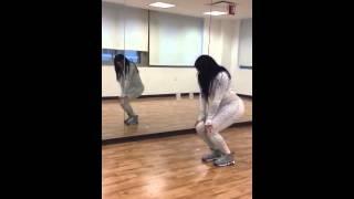 Kyla dancing to asap Rocky Fashion killa