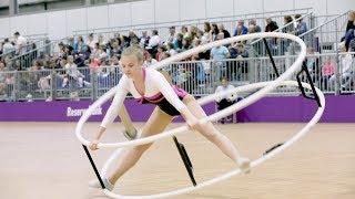 German Championships in Gymwheel 2017 Maren Grätsch 20th Place