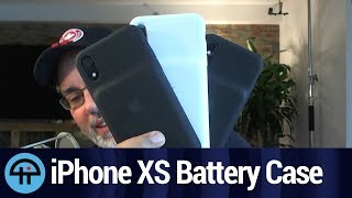 New iPhone XS, XS Max, XR Battery Case Review