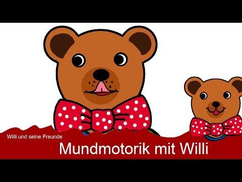 Sprachförderung - Mundmotorik mit Willi