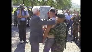 А.А. Кадочников в гостях у Спецназа Внутренних Войск