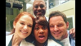 Greys Anatomy Characters - Behind The Scenes (Funny And Sweet Moments)