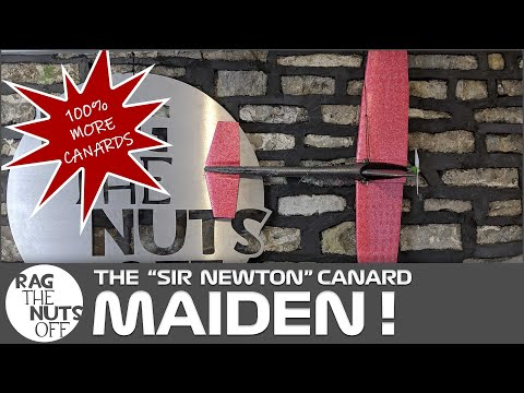 the-quotsir-newtonquot-maiden--lidl-glider-rc-conversion