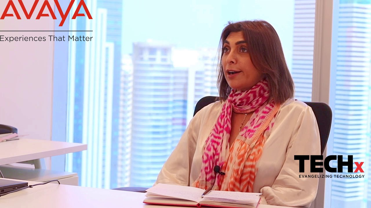 Faten Halabi from AVAYA on IWD 2021