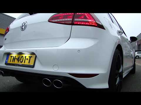 GOLF 7  1.4 TSI R LINE LOOK EXHAUST SOUND SPORTUITLAAT UITLAAT + BYPASS MAXIPERFORMANCE NL