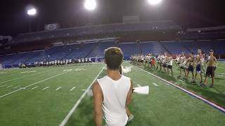 Blue Devils 2017 METAMORPH - Color Guard Head Cam - Anthony Velez