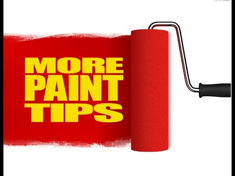 WINDOW PAINTING TUTORIAL #30 More Paint Tips.
