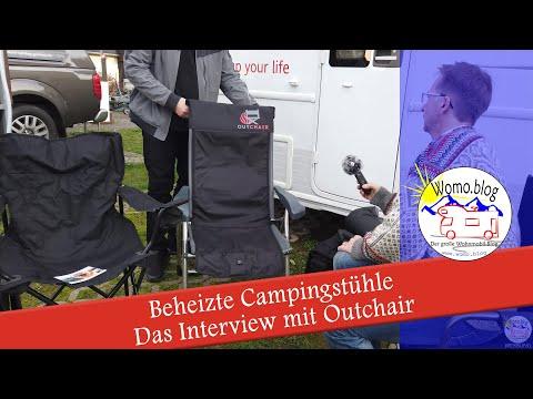 Beheizbare Campingstühle und Decken - Ein Interview mit Outchair