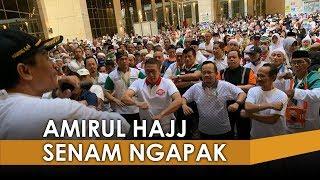 Dosen UNS Pimpin Senam Ngapak Bersama Amirul Hajj di Kampung Jarwal Makkah