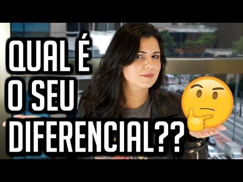 QUAL É O SEU DIFERENCIAL??... COMO RESPONDER