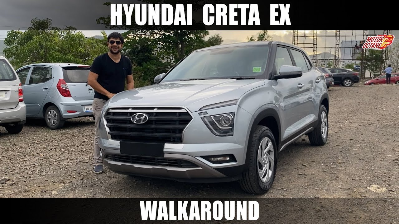 Motoroctane Youtube Video - 2020 Hyundai Creta EX - Petrol Base Model | Hindi | MotorOctane