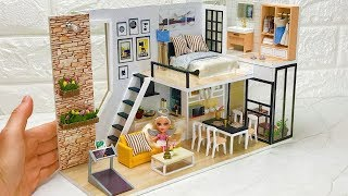 DIY Barbie Dollhouse (Bedroom,Kitchen,Living Room,and More)