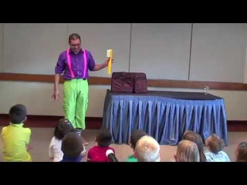 Kinderfeest - Kindergoochelaar Charly Crama