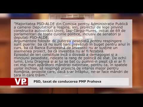 PSD, taxat de conducerea PMP Prahova