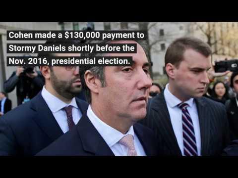 Trump discloses reimbursement to Michael Cohen for 2016 payment to Stormy Daniels
