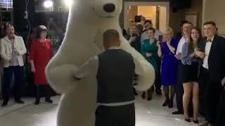 Білий ведмідь на весілля