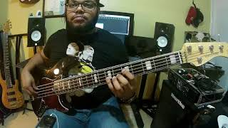 Como yo - Juan Luis Guerra bass cover by Joel Germoso