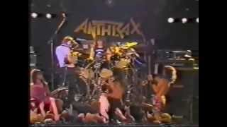 Anthrax   Soldiers Of Metal  Charlie Benante solo   Live in Bochum 1986   PART 68
