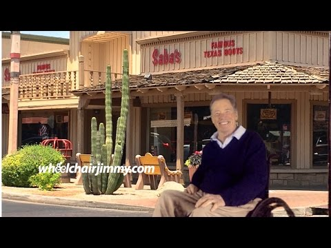 Video Wheelchair Accessible Restaurant Reviews - Saddle Ranch Chop House Restaurant. Glendale, AZ