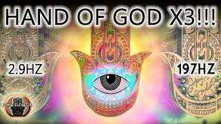 HAND OF GOD 3X THE POWER! IN 5 MIN...THE MOST POWERFUL PROTECTION AGAINST FEAR AND DOUBT | DELTA HZ