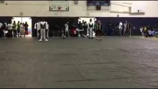 Black diamonds adult drill team @ Johnny hi steppers competition 2017