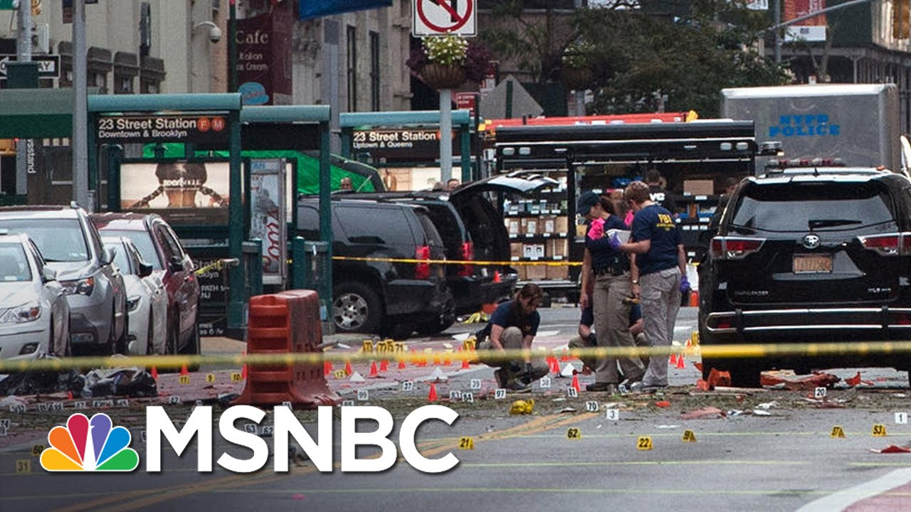 Eyewitness Responds To Shooting, Capture Of Chelsea Bombing Suspect | Andrea Mitchell | MSNBC thumbnail