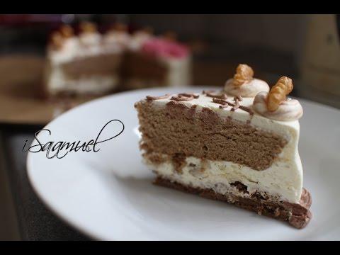 Video Coffee and Walnut Cream Cake | Recipe