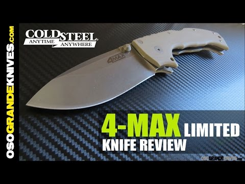 Cold Steel 4 Max 62RM Folding Knife Review | OsoGrandeKnives