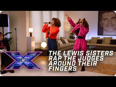The Lewis Sisters rap the Judges around their fingers! | X Factor: The Band | Auditions