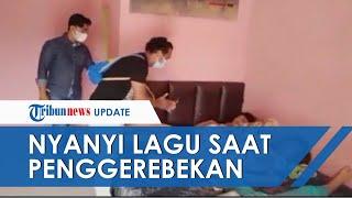 VIDEO Aksi Kocak Polisi Nyanyikan Lagu Ulang Tahun saat Tangkap Maling: Paket, Paket!