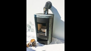 Камінофен Haas+Sohn Madeira speckstein (кахельна піч ) від компанії House heat - відео 1