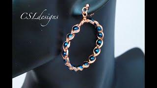 Egyptian Style Wirework Earrings