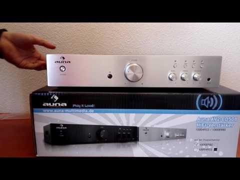 AUNA AV2-CD508 Hi-Fi sztereó erősítő