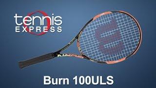 Ρακέτα τέννις Wilson Burn 100ULS video